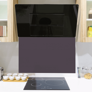 Regal Purple Toughened Glass Splashback