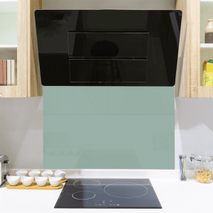Saint Pierre Green Toughened Glass Splashback