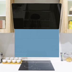 Toughened Blue Glass Splashbacks Glass Splashbacks