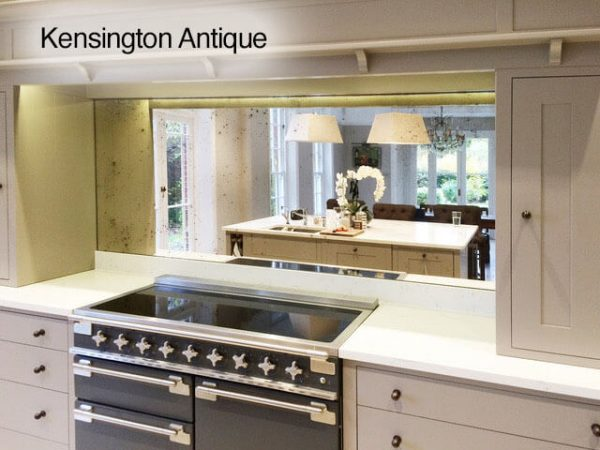 Toughened Antique Mirror in Kensington