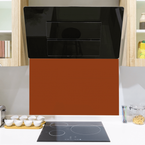 Toughened Copper Glass Splashback
