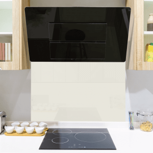 Urban White Toughened Glass Splashback