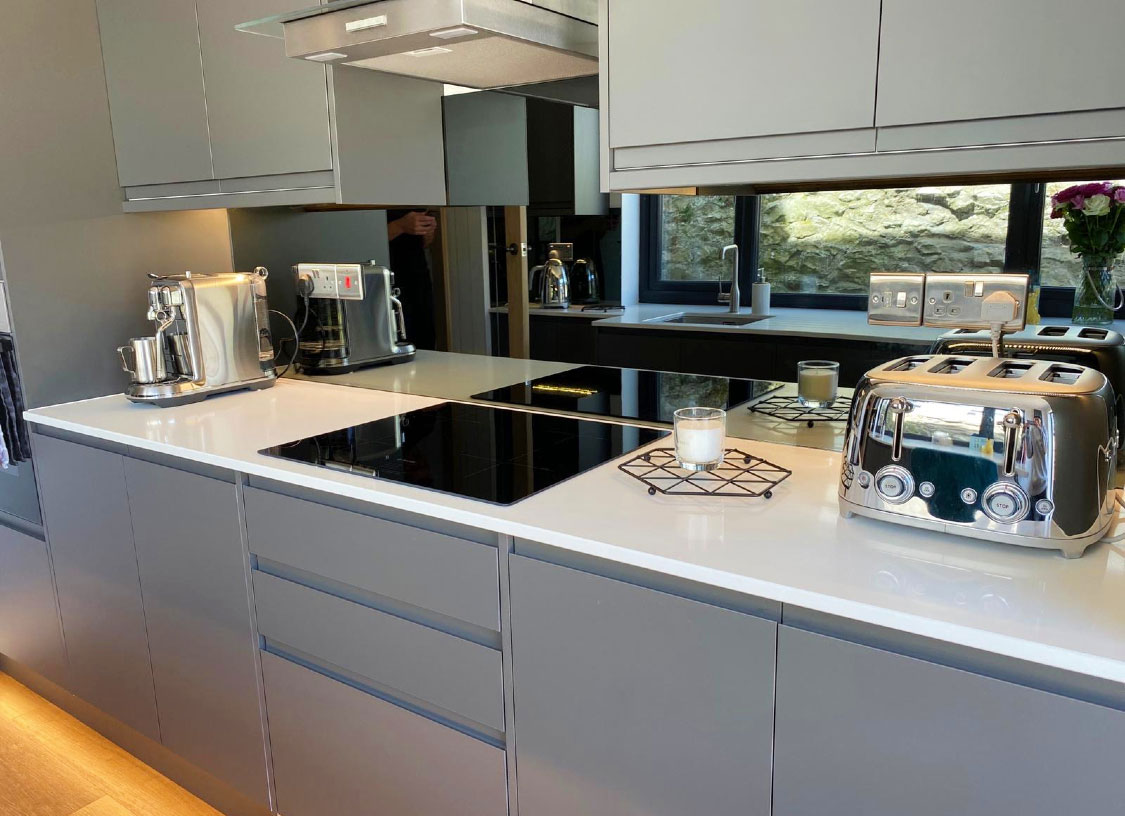 Mirror Splashbacks South Manchester Glass Splashbacks
